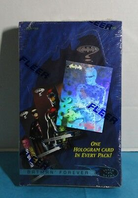 1995 FLEER ULTRA BATMAN FOREVER Factory Sealed Box 36 Packs