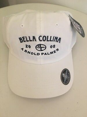 Ahead Arnold Palmer Bella Collina 2008 White Lightweight Golf Hat Cap ~NWT~ 927e4f5d80fd