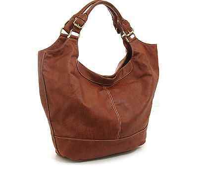 Orig. MB Melie Bianco Big Hobo-Bag Tasche Shopper Bag braun - TREND 2017 - NEU