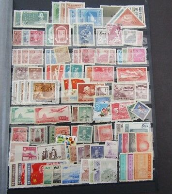 China - Useful Unchecked Collection Of Mid Period Sets On Stocksheet - Mint