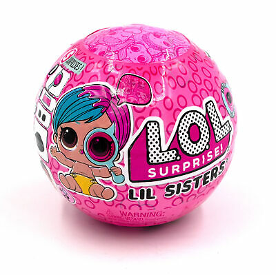 LOL Surprise Doll Eye Spy Series 4 Big Puppe Lil Sisters Ball Confetti Glitter