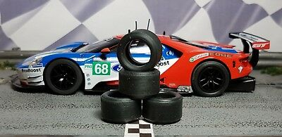 1/32 PAULGAGE SLOT CAR TIRES 2pr PGT-20125LM fits SCALEXTRIC new Ford GT