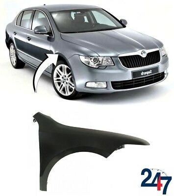 New Skoda Superb 2008 - 2013 Front Wing Fender Right O/S 3T0821022