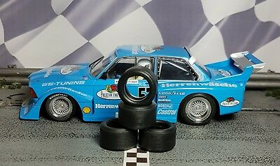1/32 PAUL GAGE SLOT CAR TIRES 2pr PGT-20125LM fit Sideways BMW 320