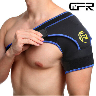 Shoulder Stability Brace Adjustable Support Rotator Cuff Dislocated Strap Pain