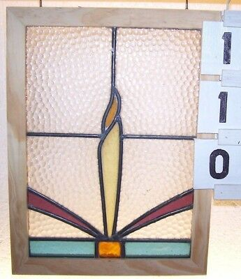 Old Leaded English Stained Glass Window.. A Pair At Listing.