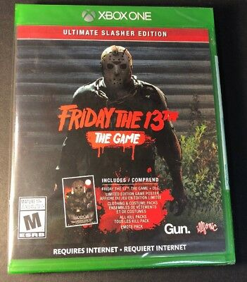 Friday the 13th The Game [ Ultimate Slasher Edition ] (XBOX ONE) NEW
