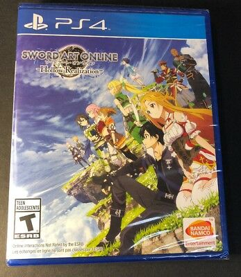 Sword Art Online [ Hollow Realization ] (PS4) NEW