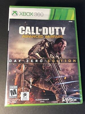 Call of Duty Advanced Warfare [ Day Zero Edition ] (XBOX 360) NEW