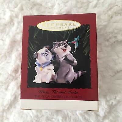 NEW Hallmark Keepsake Ornament Pocahontas Collection Percy, Flit and Meeko