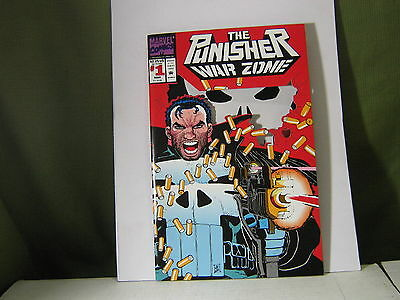Punisher: War Zone (1992) #1 Signed by Chuck Dixon See Below