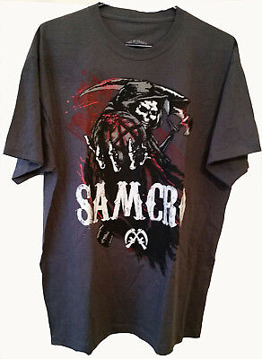 abb2c847 Sons Of Anarchy Samcro Reaper T Shirt Great Graphics!! Men's Size Xl Road  Gear