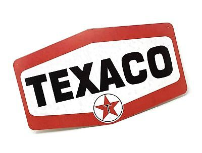 Texaco Gas Station Sign, Nostalgic Looking Service Oil Station Retro Metal Si...