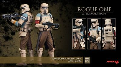 Star Wars Rogue One Scarif Stormtrooper ArtFX+ 1:10 Statue Stormtrooper 2-Pack