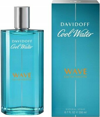 Davidoff Cool Water Wave Man - Men 200 ml Eau de Toilette EDT ★TOP PREIS★