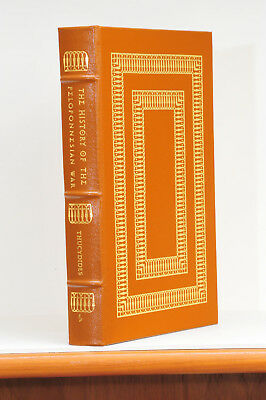 The History of the Peloponnesian War by Thucydides - Easton Press