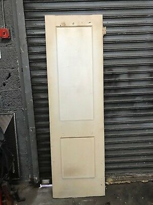 "2 Panel Hollow Wood Door 24""x 80"""