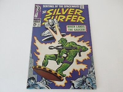 The Silver Surfer No 2 -  1st App of the Brotherhood of Badoon - Oct 1968- vgc