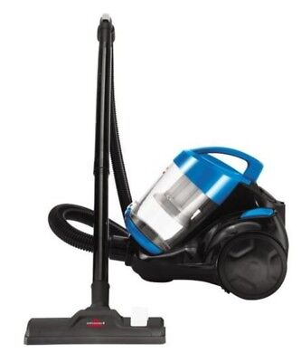 Bis Zing Bagless Canister Vacuum Cleaner Multi Surface Blue