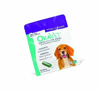 OraVet Dental Hygiene Chews Medium Dogs (25-50 lbs), Dental Treats for Dogs, ...