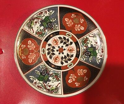 Imari Produced For Heritage Mint Salad Plate Oriental Japan 8 1/4 Inch (larger)