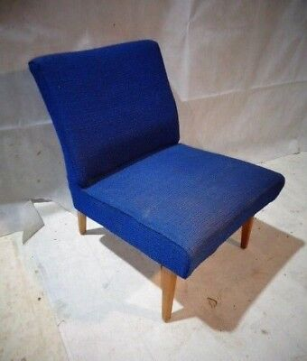 RETRO 50s 60s EASY CHAIR VINTAGE CHAIR UPHOLSTERED CHAIR MID CENTURY LOUNGE CHAI