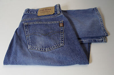 BIG STAR Denim Button Fly Jeans W33 L32
