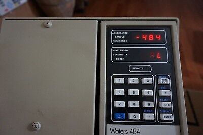 Waters 484 Tunable Absorbance Detector Lc Uv  M484 Hplc