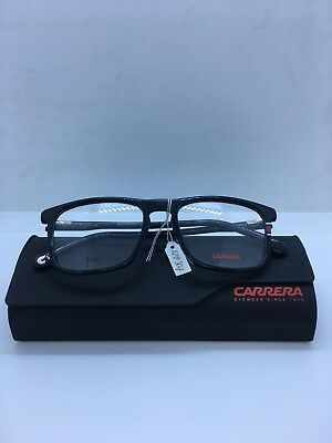 e9ea5b020901 Carrera 158-V 807 Authentic Designer Eyeglasses frames Black With Case