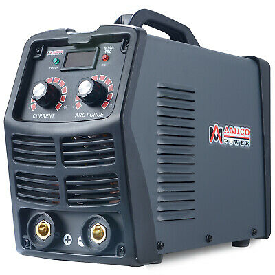 MMA-180, 180-Amp Stick Arc IGBT Digital Inverter DC Welder, 110V & 230V Welding