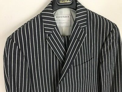 Costumes Brooks Brothers Black Fleece Thom Browne Blue Pinstripe Suit 38 R Eur 48 Bb1 Bb2 Cheapest Price From Our Site