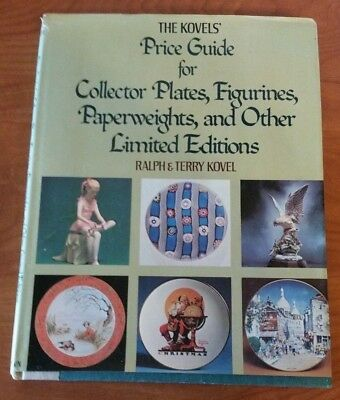 B0014SHIFC The Kovels Price Guide for Collector Plates, Figurines, Paperweight