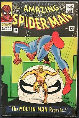 The Amazing Spider-Man (Marvel,1966) #35 Silver Age ~
