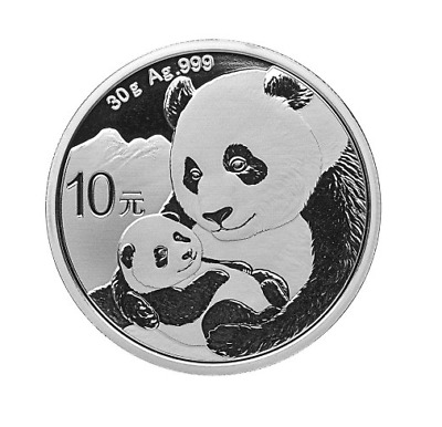 Silber Panda 2019 30 Gramm g Silver Argent China Chinese