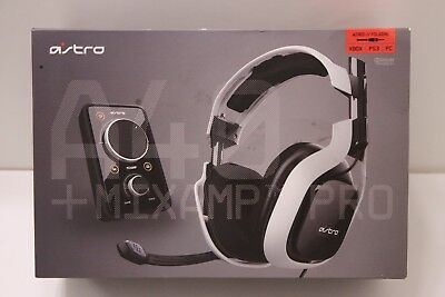 Astro A40 Wired Gaming Headset + MixAmp Pro for XBOX PS3 PC - NEW OPEN BOX