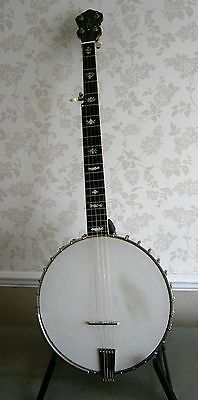 BANJO 1920's CUSTOMISED VEGA  WHYTE LAYDIE 12inch