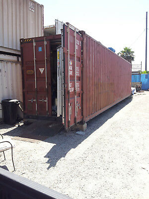 Used 40Ft H/c Container Converted Home, Business & Storage Los Angeles