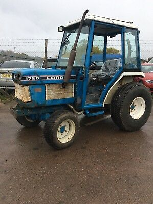 Ford  Compact tractor 1720 4 Wheel Drive Three Cylinder Diesel Engine With Cab