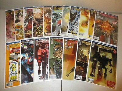 Transformers Generations #1-12 + Variant (Full IDW 2006 Series, Lot of 18) VF/NM
