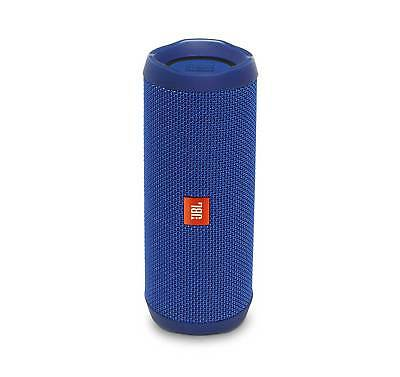 JBL FLIP 4 Blue Portable Bluetooth Speaker (Certified Refurbished)