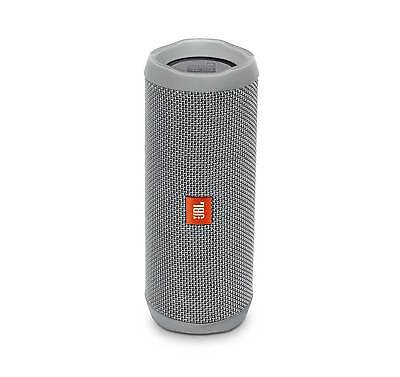 JBL FLIP 4 Gray Portable Bluetooth Speaker (Certified Refurbished)