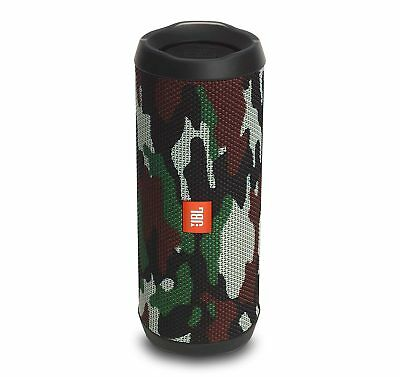 JBL FLIP 4 Camouflage Portable Bluetooth Speaker (Certified Refurbished)