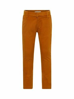 Name it Mini Jungen Chino-Hose Workerstyle in dunkelblau Nitblak