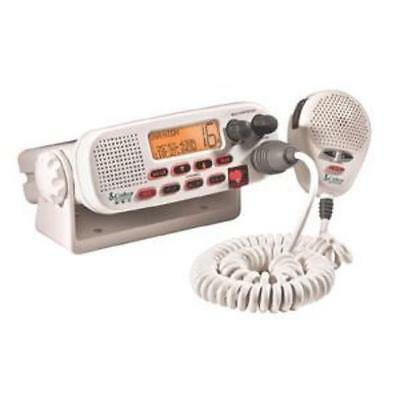 Cobra MR45-D White Fixed Mount Class D Submersible VHF Radio - Submersible