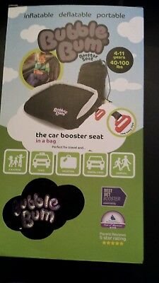 Bubble Bum Travel Booster Car Seat ~New great for traveling