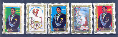 Ecuatorial Guinea 1975 Lot Of 5 Used Stamps