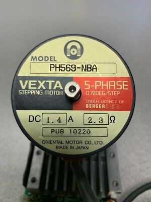 vexta stepping motor ph569-nba/csd5814n-p 5-phase