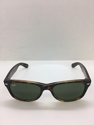733179946cb Ray Ban New Wayfarer RB 2132 902 58 Tortoise Sunglasses Green 52 18 3N NIB