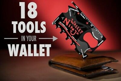 Official Wallet Ninja Multi-tool Gadget - Novelty Gifts For Men ImpulseBuys4Guys