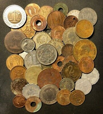Old Africa Coin Lot - 40+ Coins - Overstock - Variety of Coins - Lot #N7